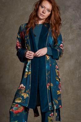 Pip StudioNightwear 2020-2Nisha Poppy Stitch Kimono