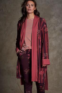 Pip StudioNightwear 2020-2Nisha Woody Tales Stripe Kimono