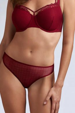 Marlies Dekkers The Mauritshuis rhubarb red Slip - 5 cm