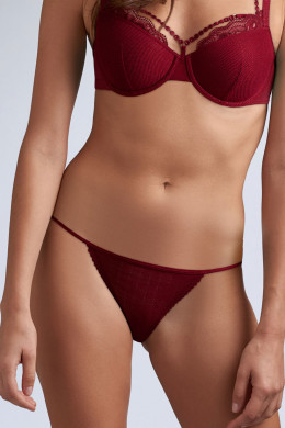 Marlies Dekkers The Mauritshuis rhubarb red Tanga
