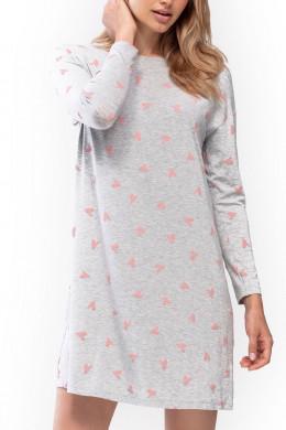Mey DamenwäscheBigshirts & NachthemdenNachthemd Liana grey