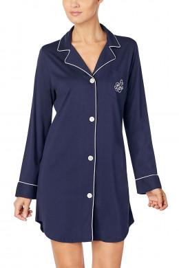 Lauren Ralph LaurenHammond KnitsClassic Notch Collar Sleepshirt