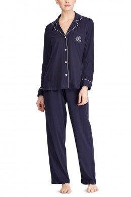 Lauren Ralph Lauren Hammond Knits Classic Notch Collar Pyjama