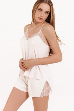 LiscaSelection RosePyjama - Top mit Frenchpanty