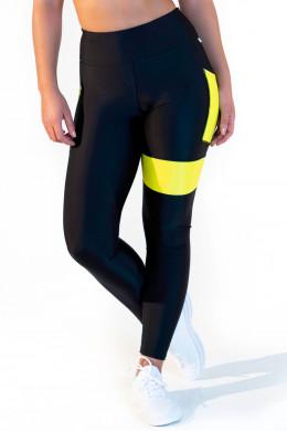 CalaoFitness NeonLeggings high waist - neon yellow