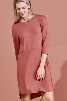 ESSENZALoungewear 2021-2Lykke Uni Nightdress 3/4 Sleeve