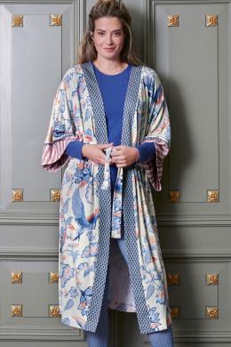 Pip StudioNightwear 2021-2Noelle Royal Birds Kimono