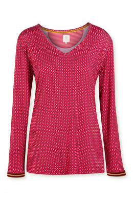 Pip StudioLoungewear 2021-2Trice Star Tile Top Long Sleeve