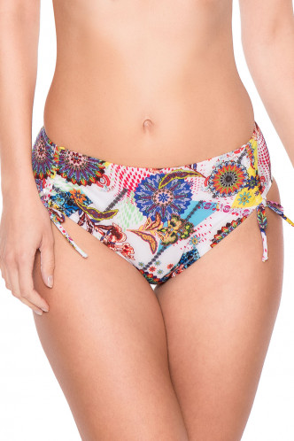 Abbildung zu Bikini-Slip mit Tunnelzug (FBA0668) der Marke Antigel aus der Serie La Samarkand