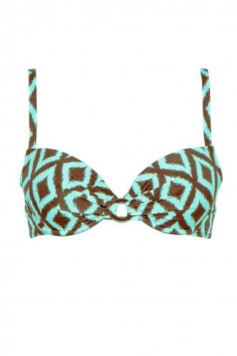 Abbildung zu Bikini-Oberteil, geformte Schale Push (EBA4388) der Marke Antigel aus der Serie La Botswana