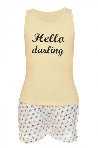 Abbildung zu Pyjama (63334) der Marke Cheek aus der Serie Sweet Bloom
