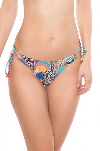 Abbildung zu Bikini-Slip mit Schnürung (EBA0181) der Marke Antigel aus der Serie La Bomba Africa