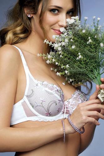 Abbildung zu Bügel-BH, 3/4 Schale (CCC6282) der Marke Antinea aus der Serie Bouquet Jasmin