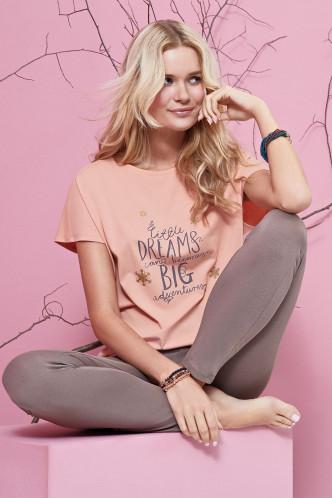 Abbildung zu Pyjama mit Leggings (63344) der Marke Cheek aus der Serie Candy