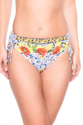 Abbildung zu Bikini-Slip mit Tunnelzug (FBA0639) der Marke Antigel aus der Serie La Folie Azulejos