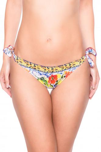 Abbildung zu Bikini-Slip mit Schnürung (EBA0139) der Marke Antigel aus der Serie La Folie Azulejos