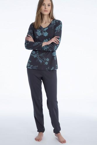 Abbildung zu Pyjama lang mit Bündchen (47029) der Marke Calida aus der Serie Paulina