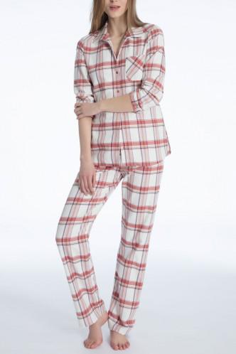 Abbildung zu Pyjama, Flanell (41024) der Marke Calida aus der Serie Rubina
