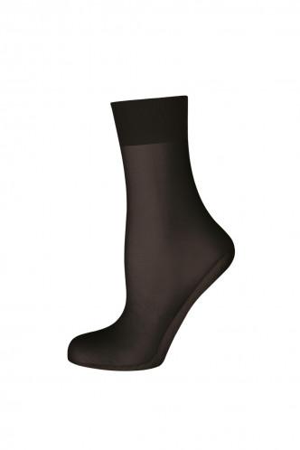 Abbildung zu Seidenmatt 20 Baumwoll-Sohle Söckchen (902630) der Marke Elbeo aus der Serie Elegance