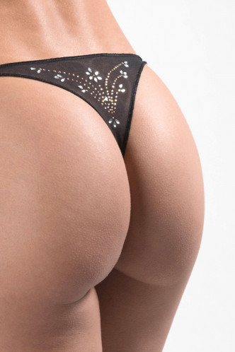 Abbildung zu Hüftstring Strass Femme Star (P023S) der Marke Aubade aus der Serie Boite a Desir