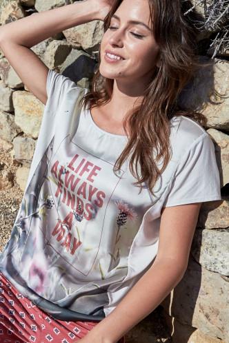 Abbildung zu T-Shirt moon (851058H) der Marke Jockey aus der Serie Easy Vibes Loungewear