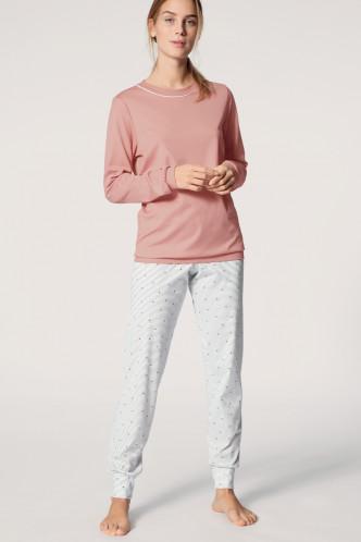 Abbildung zu Pyjama mit Bündchen rose (40536) der Marke Calida aus der Serie Sweet Dreams
