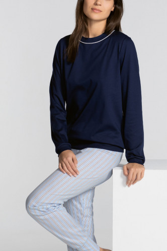 Abbildung zu Pyjama mit Bündchen blue (40385) der Marke Calida aus der Serie Sweet Dreams