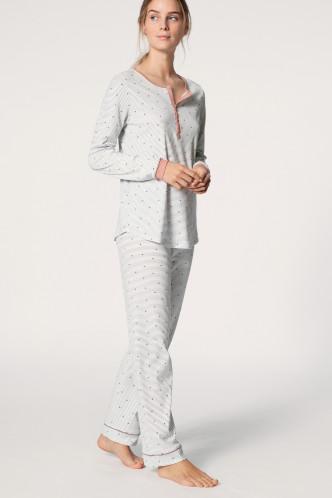 Abbildung zu Pyjama mit Knopfleiste rose (40336) der Marke Calida aus der Serie Sweet Dreams
