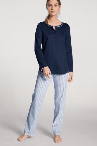 Abbildung zu Pyjama mit Knopfleiste blue (40285) der Marke Calida aus der Serie Sweet Dreams