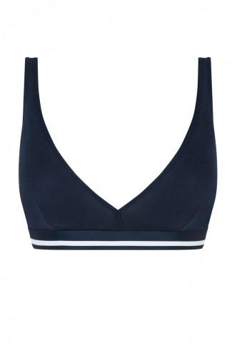 Abbildung zu Triangel-BH, weißer Bundstreifen (24540) der Marke Mey Damenwäsche aus der Serie Serie Cotton Pure
