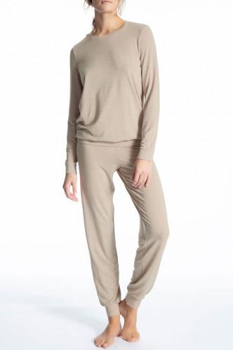 Abbildung zu Pyjama lang mit Bündchen (49156) der Marke Calida aus der Serie Cosy Wool