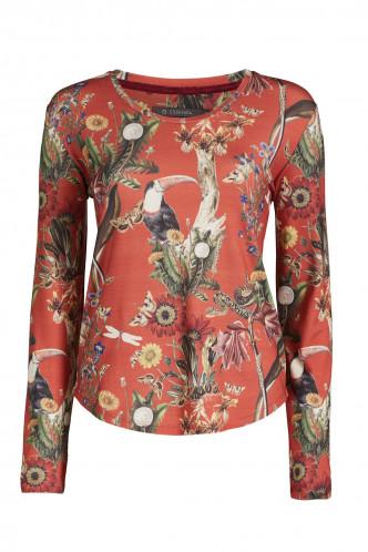 Abbildung zu Waona Airen Top Long Sleeve (401405-307) der Marke ESSENZA aus der Serie Loungewear 2019-2