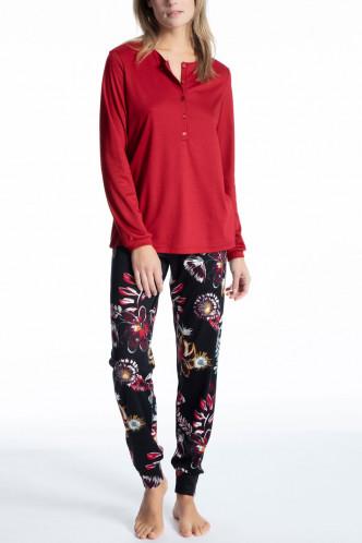 Abbildung zu Pyjama lang mit Knopfleiste (40826) der Marke Calida aus der Serie Cosy Cotton Feel