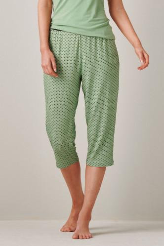 Abbildung zu Rosie Circle Mini Trousers 3/4 (401490-310) der Marke ESSENZA aus der Serie Loungewear 2020