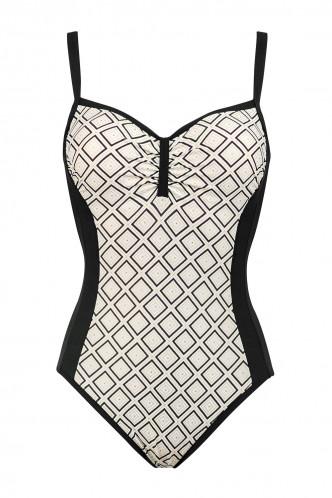 Abbildung zu Badeanzug mit Bügel (8653884) der Marke Lidea aus der Serie Shiny Honeycomb