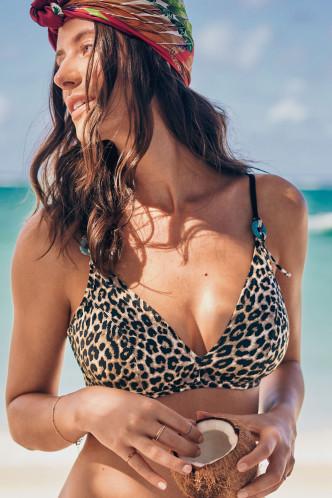 Abbildung zu Bikini-Oberteil Marielle (M0 8800-1) der Marke Rosa Faia aus der Serie Animal Safari