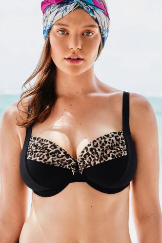 Abbildung zu Bikini-Oberteil Hermine (M0 8714-1) der Marke Rosa Faia aus der Serie Animal Safari