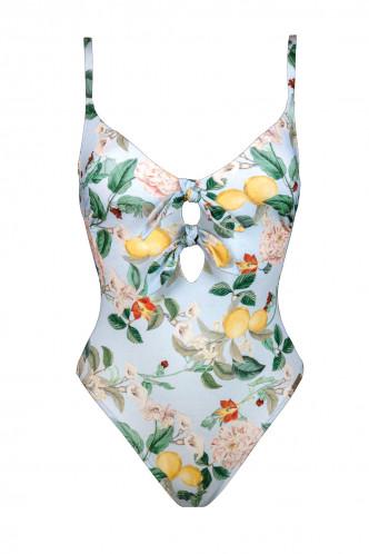 Abbildung zu Badeanzug mit Doppelschleife (8131105) der Marke Watercult aus der Serie Lemon Infusion