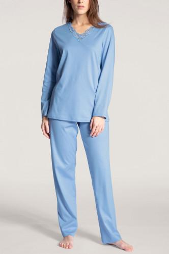 Abbildung zu Pyjama lang (40032) der Marke Calida aus der Serie Cosy Cotton Nights