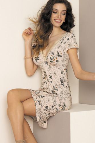 Abbildung zu Nachthemd Sexy (ELG1286) der Marke Antigel aus der Serie Herbier Bonheur
