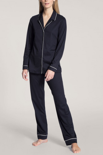 Abbildung zu Pyjama lang, durchgeknöpft (43629) der Marke Calida aus der Serie Night Lovers