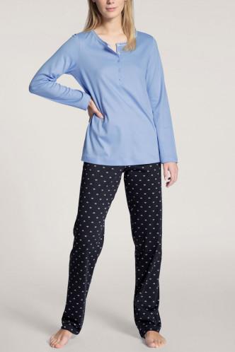 Abbildung zu Pyjama lang, mit Knopfleiste (43729) der Marke Calida aus der Serie Night Lovers