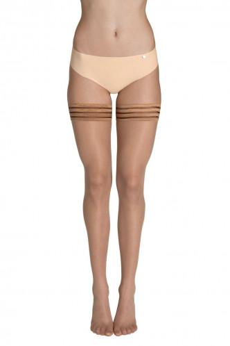 Abbildung zu Hold Up 15 Halterlose Strümpfe mit Silikon (50024) der Marke Lisca aus der Serie Socks and tights