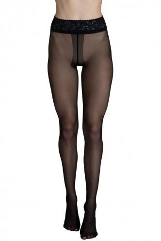 Abbildung zu Selection 30 Strumpfhose mit Spitzenbund (50018) der Marke Lisca aus der Serie Socks and tights