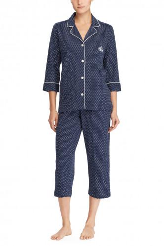 Abbildung zu Notch Collar Capri Pyjama (I819702) der Marke Lauren Ralph Lauren aus der Serie Knits Nightwear