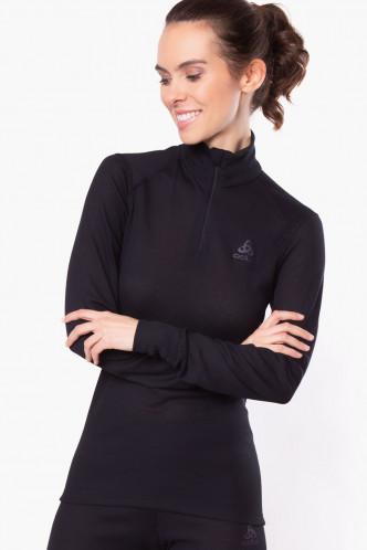 Abbildung zu Shirt langarm mit Reißverschluss, Eco (159081) der Marke Odlo aus der Serie Active Warm Eco
