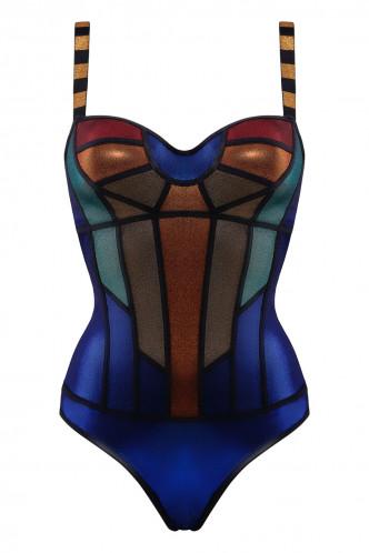 Abbildung zu Balconette Body (35242) der Marke Marlies Dekkers aus der Serie Rainbow Scarab