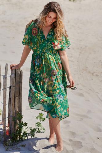 Abbildung zu Dushi Exotic Garden Dress (51518032-035) der Marke Pip Studio aus der Serie Beachwear 2021