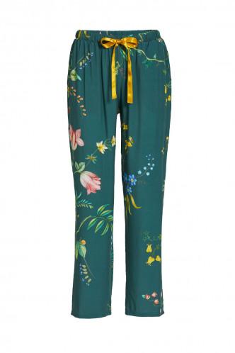 Abbildung zu Babbet Woven Fleur Grandeur Trousers Long (51500248-251) der Marke Pip Studio aus der Serie Loungewear 2021