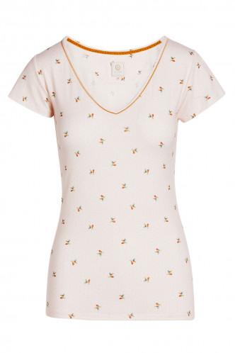 Abbildung zu Toy Bisous Top Short Sleeve (51512169-172) der Marke Pip Studio aus der Serie Loungewear 2021